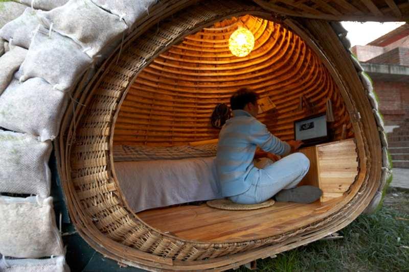 vivienda sostenible y pequeña
